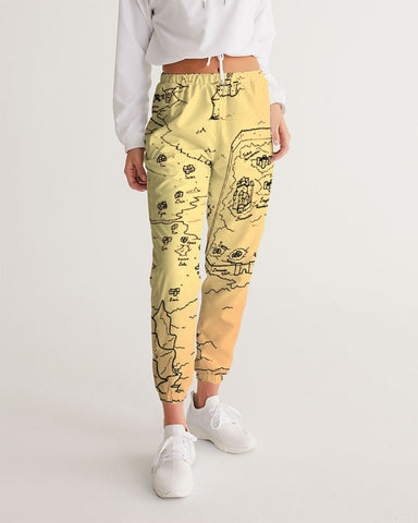 "TCoE - ""Trindavin Map"" - Ladies Track Pants"