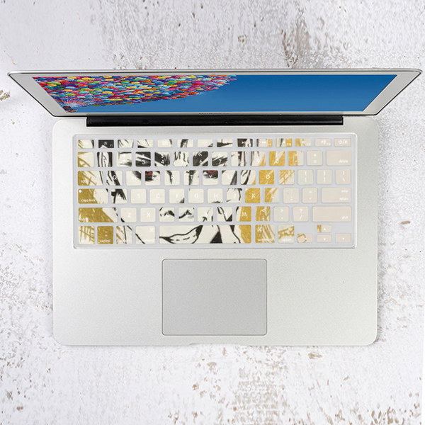 "Torrick - ""smile"" - Apple Air13 Laptop Keyboard Membrane Protective Shell Set"