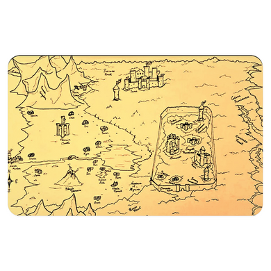 TCoE - Trindavin Map - North - Pet Placemats