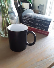 Load image into Gallery viewer, TCoE: Matte Black Magic Mug - 11oz.