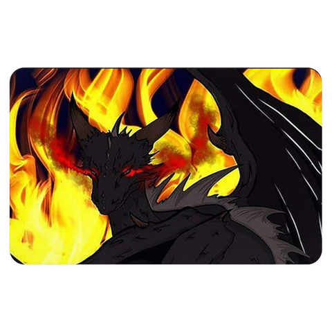 "Dragon Torrick - ""Flame"" - Pet Placemats"