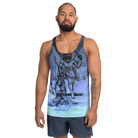 "TSoaGa - Cythia - ""Into The Abyss"" - Unisex Tank Top"