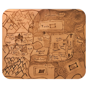 TCoE - Torrick's Map - Mousepads
