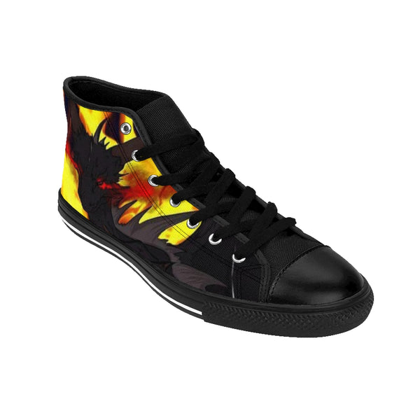 "Dragon Torrick - ""Flame"" - Ladies High-top Sneakers"