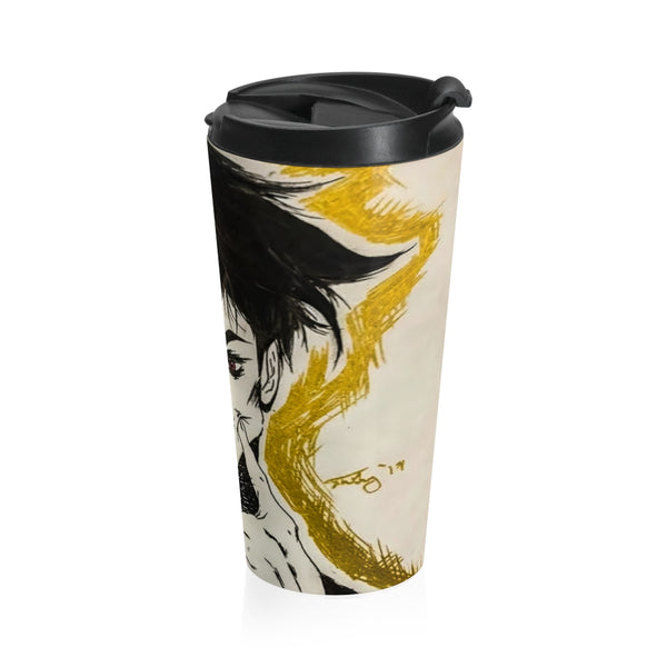 "Torrick - ""smile"" - Stainless Steel Travel Mug"