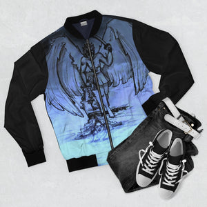 "TSoaGA - Cythia - ""Into the Abyss"" - Men's AOP Bomber Jacket"