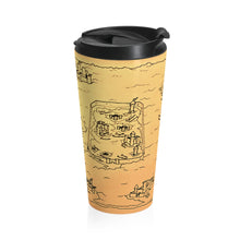 Load image into Gallery viewer, TCoE - Trindavin Map - Stainless Steel Travel Mug