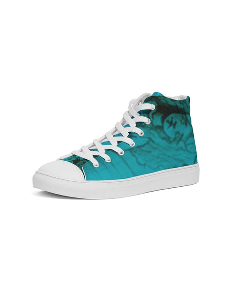 "TSoaGA -Dark Angel Cythia ~ ""The Mist"" - Ladies Hightop Canvas Shoe"