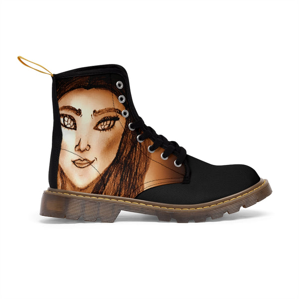 Wistria - Ladies Canvas Boots