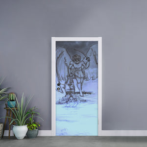 "TSoaGa - Cythia - ""Into The Abyss"" - Self-adhesive Door Stickers"