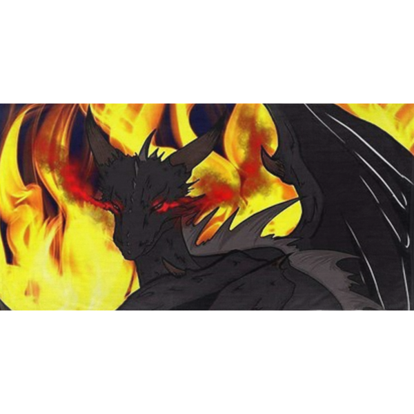 "Dragon Torrick - ""Flame"" - Bath Towels"