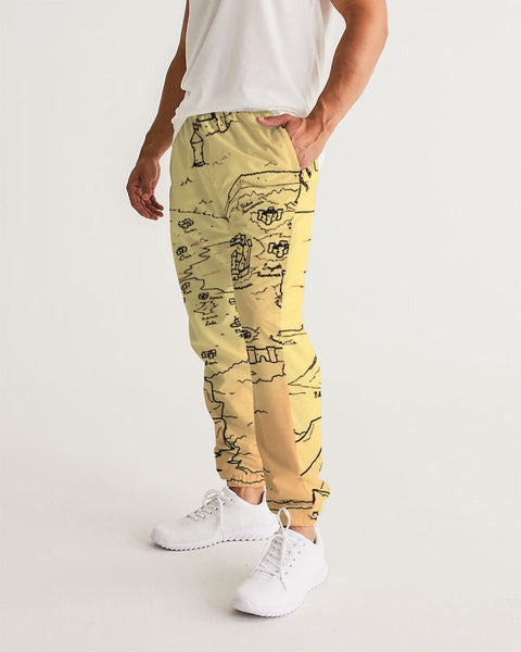 "TCoE - ""Trindavin Map"" - Men's Track Pants"