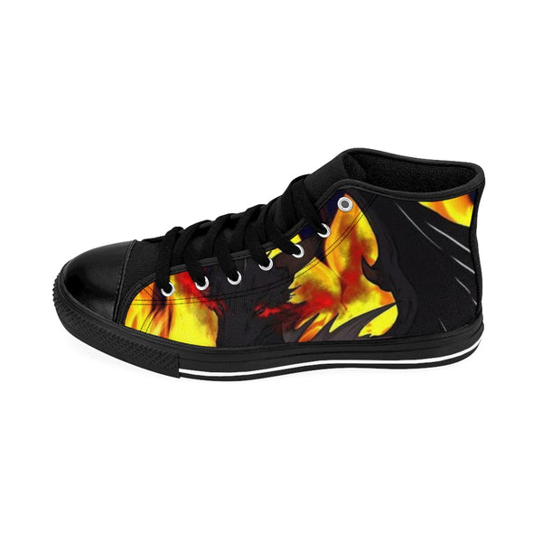 "Dragon Torrick - ""Flame"" - Men's High-top Sneakers"