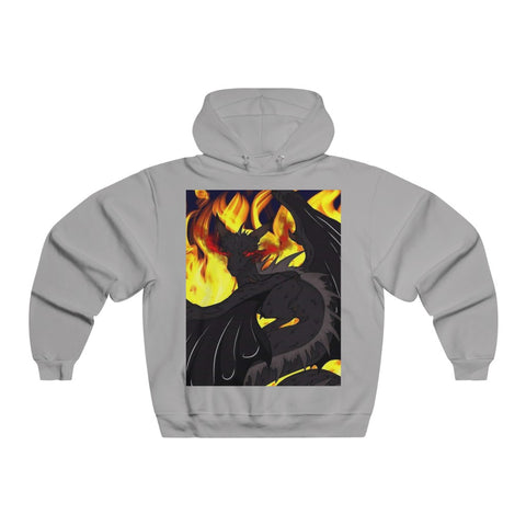 "Dragon Torrick - ""Flame"" - Men's NUBLEND® Hooded Sweatshirt"
