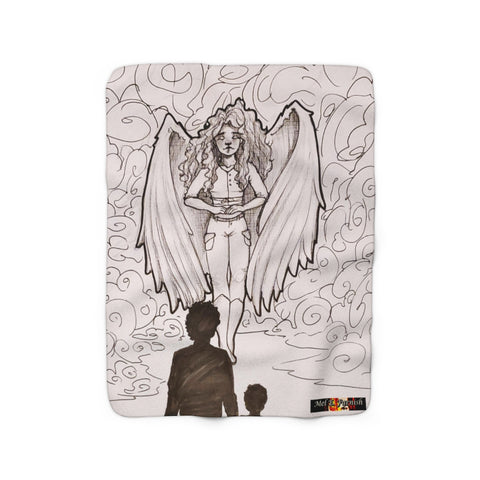 "TSoaGA: ""Dark Angel Cythia"" - Sherpa Fleece Blanket"