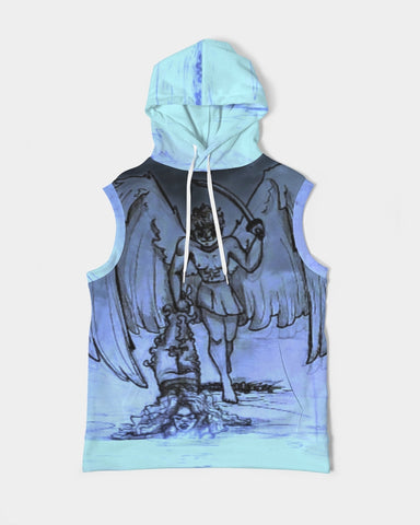"TSoaGa - Cythia - ""Into the Abyss"" - Men's Premium Heavyweight Sleeveless Hoodie"