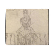 Load image into Gallery viewer, Melainie - Shadow of Secrets - Polyester Blanket