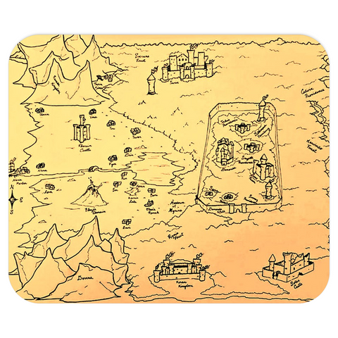 TCoE - Trindavin Map - Mousepads