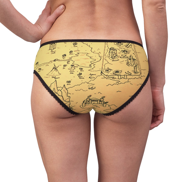 TCoE - Trindavin Map - Ladies Briefs