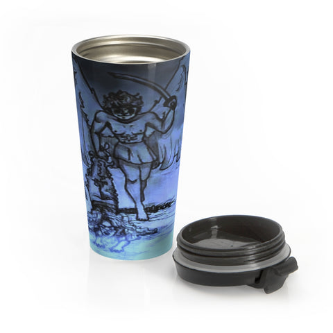 "TSoaGa - Cythia - ""Into the Abyss"" - Stainless Steel Travel Mug"