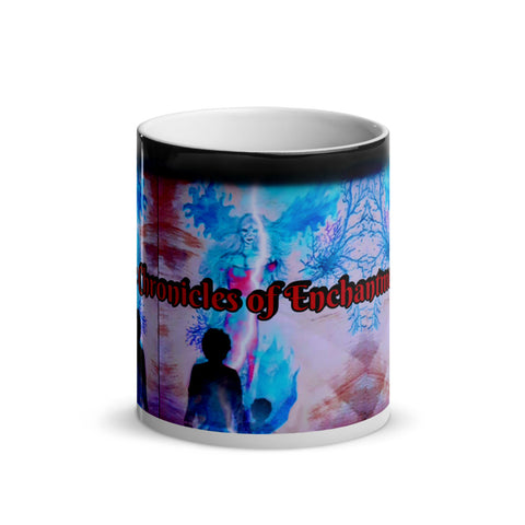 "TSoaGA: Flare, Fitin & Cytin - ""Divine Intrusion"" - Glossy Magic Mug"