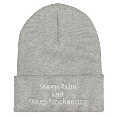 TCoE - Keep Calm and Keep Enchanting - Cuffed Beanie