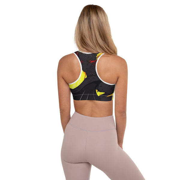 "Dragon Torrick - ""Flame"" - Padded Sports Bra"