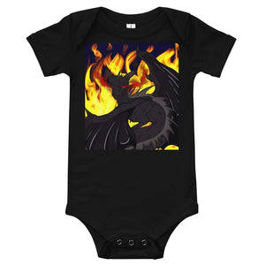 "Dragon Torrick - ""Flame"" - Baby T-Shirt"