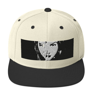 Ethia - Crimson Glare (Black & White) - Snapback Hat