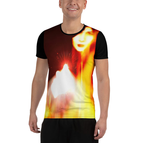 "Ethia - ""Their Last Sight 2"" - All-Over Print Men's Athletic T-shirt"