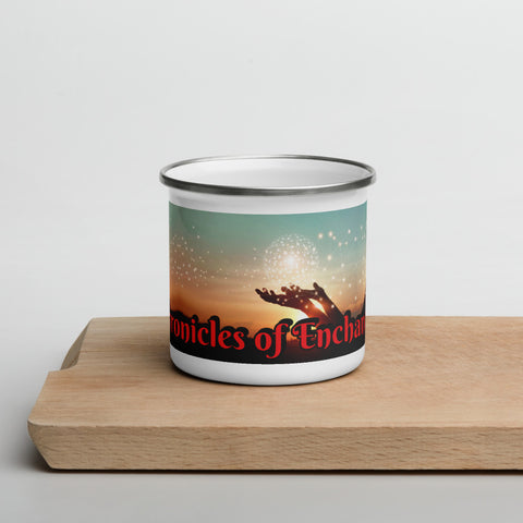 The Chronicles of Enchantments - Enamel Mug