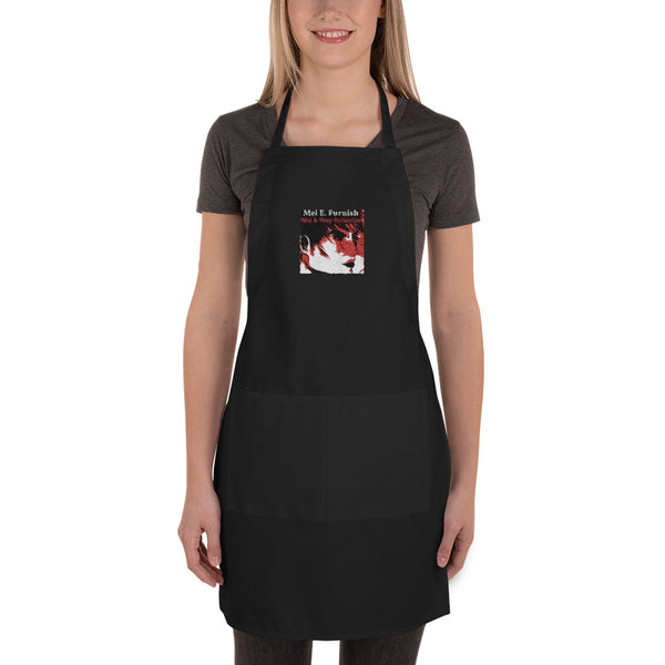 "Torrick - ""wishful thinking"" - Embroidered Apron"