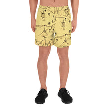Load image into Gallery viewer, TCoE - Trindavin Map - Men's Athletic Long Shorts