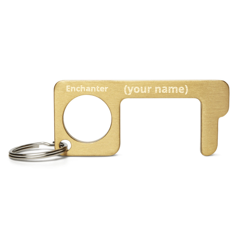 Enchanter (your name) - Customize - Engraved Brass Touch Tool