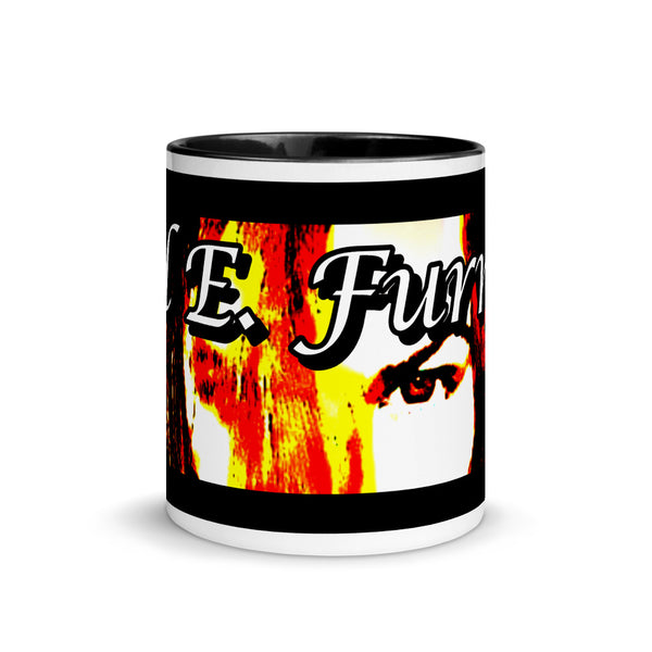 Mel E. Furnish Crimson Glare Banner - Mug with Color Inside