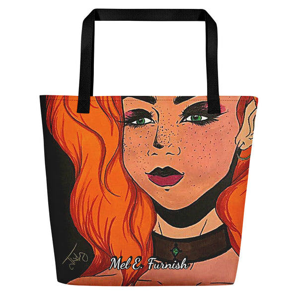"Cythia - ""Fire"" - Beach Bag"