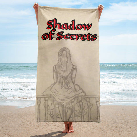 "Melainie - ""Shadow of Secrets"" - Beach Towel"