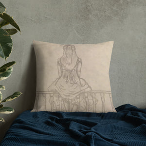 "TCoE - Melainie - ""Shadow of Secrets"" - Premium Pillow"