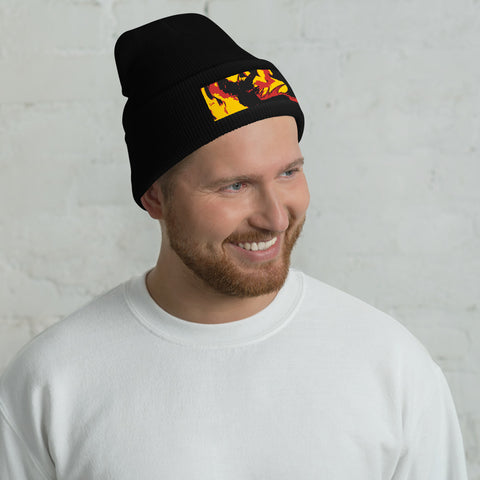 "Dragon Torrick - ""Flame"" - Cuffed Beanie"