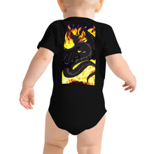 "Load image into Gallery viewer, Dragon Torrick - ""Flame"" - Baby T-Shirt"