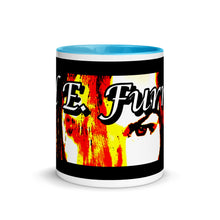 Load image into Gallery viewer, Mel E. Furnish Crimson Glare Banner - Mug with Color Inside