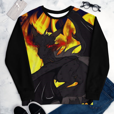 "Dragon Torrick - ""Flame"" - Unisex Sweatshirt"