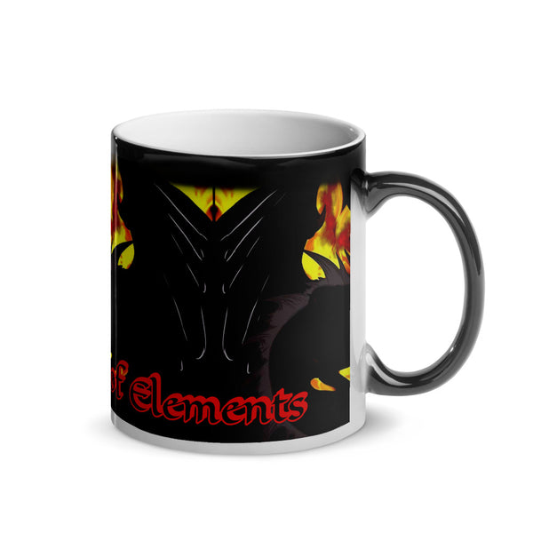 "Dragon Torrick - ""Flame"" - The Prophecy of Elements - Glossy Magic Mug"