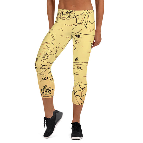 TCoE - Trindavin Map - Capri Leggings