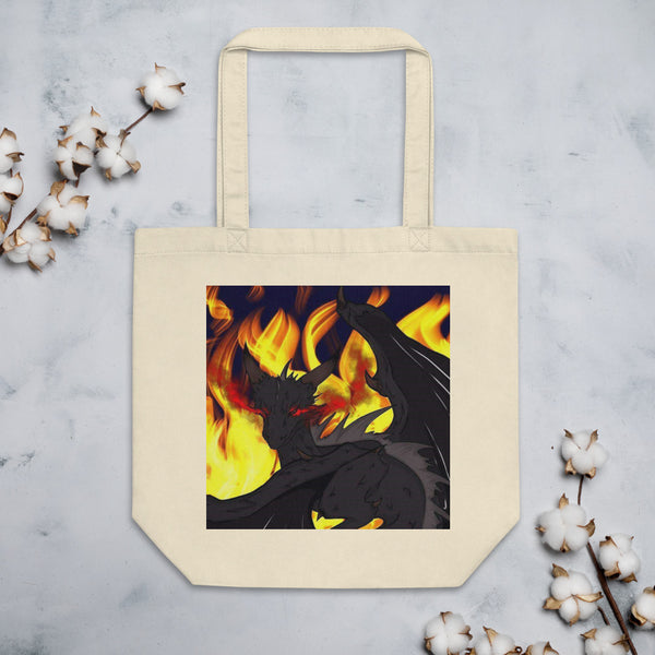 "Dragon Torrick - ""Flame"" - Eco Tote Bag"