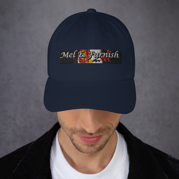 Mel E. Furnish Crimson Glare Banner - Dad hat