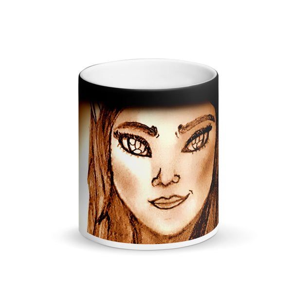 Wistria - Matte Black Magic Mug