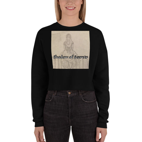 "TCoE - Melainie - ""Shadow of Secrets"" - Crop Sweatshirt"