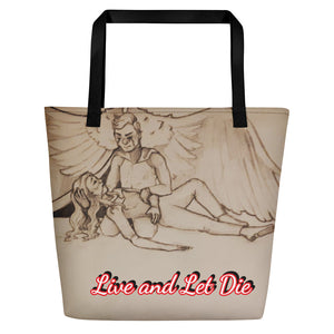 TCoE - Live and Let Die - Beach Bag