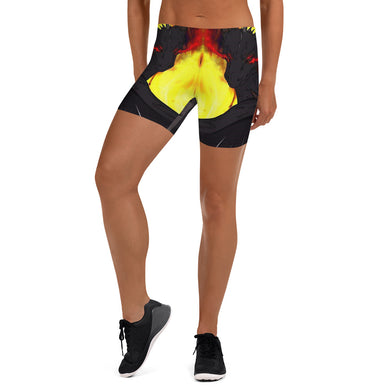 Dragon Torrick - AOP Spandex Shorts